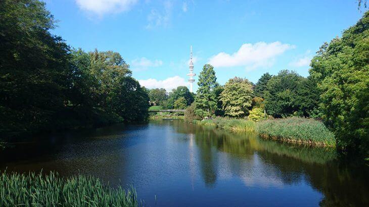 Park in Hamburg