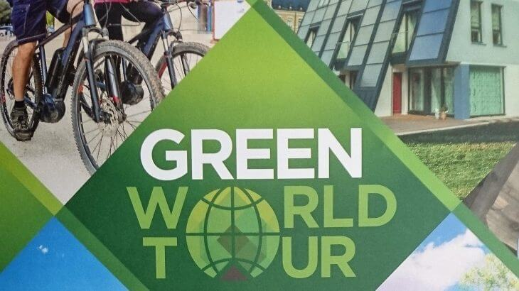 Green World Tour Flyer